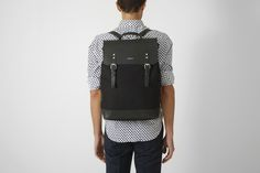 SANDQVIST - BACKPACK - HEGE - BLACK