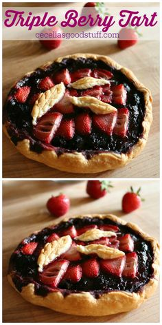 Triple Berry Tart Re