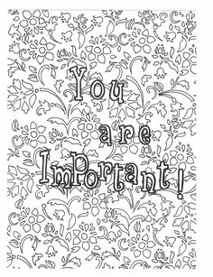 38 Best Self Love Coloring Pages Images Coloring Books Coloring