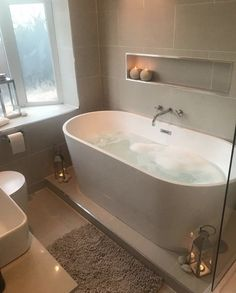 Bathroom inspo - 33 custom bath to inspire your own bathroom remodel 31 Bathroom Inspo, Bathroom Inspiration, Bathroom Ideas, Bathroom Storage, Bathroom Trends, Bathroom Organization, Cosy Bathroom, Bathroom Gray, Restroom Ideas