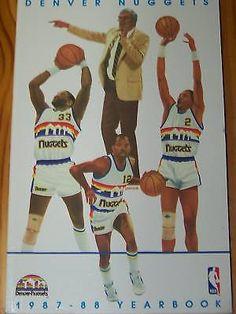1188399fe 1987 - 88 Denver Nuggets Media Guide - Alex English