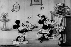 gif vintage mickey mouse minnie mouse