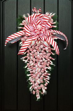Christmas WreathWinter Wreath Holiday Decor by AnExtraordinaryGift, $80.00