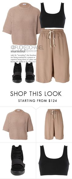 """""""→ You should miss me a little when i'm gone."""" by fuckedchanel ❤ liked on Polyvore featuring Brunello Cucinelli, Rick Owens, adidas and adidas Originals"""