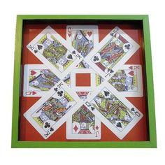 Blue Framed Poker Serving Tray - FOLKBRIDGE.COM   Buy Gifts. Indian Handicrafts. Home Decorations.