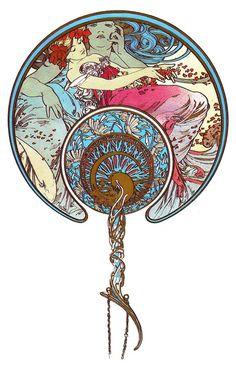 History of Art: Art Nouveau - Alphonse Mucha