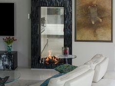 Kominek gazowy Element4 Sky T Sky T, Oversized Mirror, Furniture, Home Decor, Decoration Home, Room Decor, Home Furnishings, Home Interior Design, Home Decoration