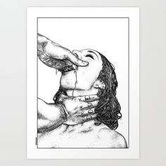 asc 716 - Le désir secret (True love) Art Print