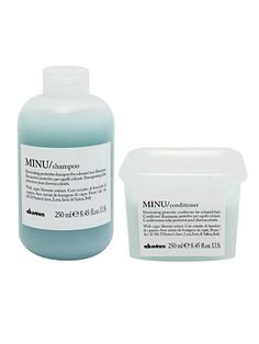 Davines Minu Shampoo and Conditioner is an ultra-gentle, sulfate-free way to keep hair color bright. www.pureemeraldsalon.com/