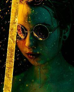 Fire in the night @petiteelutin #xt2 #fire #night #water #deep #glasses #mirror #shine #girl #polishgirl #model #polishmodel #studio #strobist #fujifilm #fujix #fujifilmpolska #nofilter #myfujilove #nomakeup #leefilters
