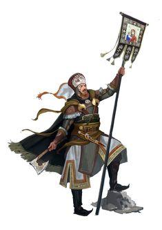 Rus Warrior by JoelChaimHoltzman on DeviantArt