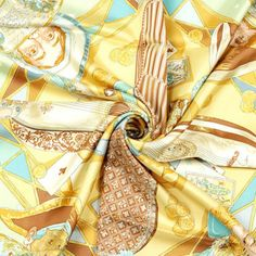 a9066d93c70e Read more about this gently used, authentic Auth Hermes Scarf AU CLAIR DE  LA LUNE Silk Foulard SANDRA LAROCHE and discover our complete collection of  ...