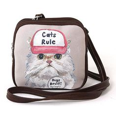 Cats Rule, Dogs Drool Shoulder Bag
