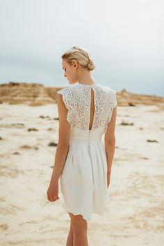 Robes de mariée Atelier Anonyme - Collection 2016 | Modèle: Odette | Photographe: Pretty days | Donne-moi ta main - Blog mariage