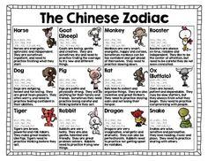 Chinese Zodiac Activity