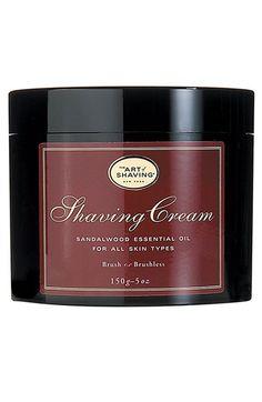 The Art of Shaving  Sandalwood Shaving Cream available at #Nordstrom