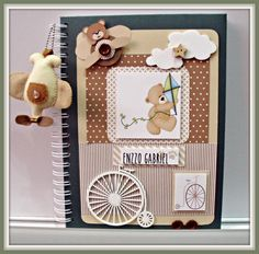 Álbum do bebê - Bicicleta