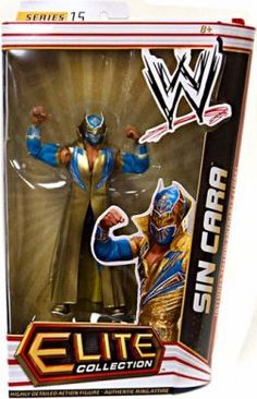 Sin Cara WWE Action Figure Elite Collection Series 15