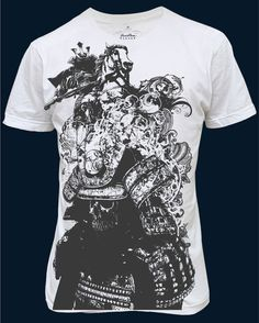 Samurai T-shirt design by chadlonius.deviantart.com on @DeviantArt *Could see Williams picking something very, very similar to this design in Japan!!*