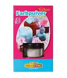 DekoBack 32267 Farbpulver Silber 3g Backen & Naschen Muffins Kuchen Plätzchen  - 2-flowerpower