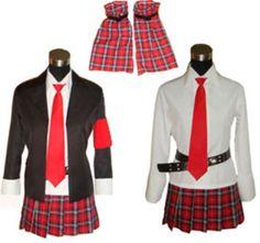 Amu Hinamori- Shugo Chara Uniform Cosplay