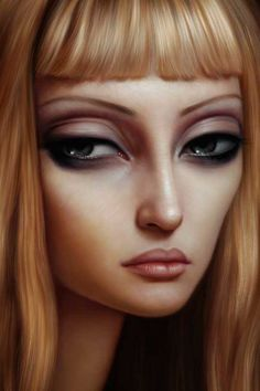 Lori Earley - yes she is all about large eyes and long necks but no one does them as well as her IMHO.