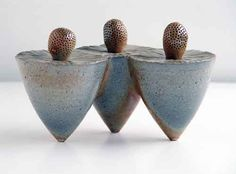Three Sisters Ceramic Art Sculpture