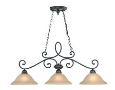 View the Jeremiah Lighting 25233 Highland Place 3 Light Linear Chandelier at LightingDirect.com.