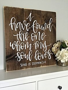 I Have Found The One Whom My Soul Loves  by SalvagedChicMarket