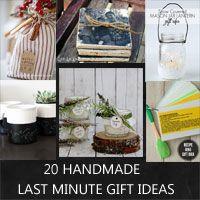 20 last minute handmade Christmas gift ideas