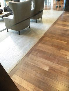 carpet and tile combinations | Wood and Stone Flooring Combinations ...