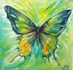 =) Ellen Holland is amazing. Butterfly Canvas, Butterfly Painting, Learn To Paint, Pictures To Paint, Painting Inspiration, Watercolor Paintings, Art Drawings, Canvas Art, Artwork