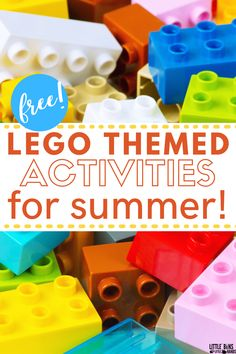 Looking for fun summer activities that you can do inside on rainy or hot summer days? Keep your kids entertained while they enjoy these STEM activities! A fun LEGO themed activity pack that is perfect for keeping kids busy during the summer. Snag this free LEGO activity pack for your kids today.  #LEGOactivities #SummerFun #KidActivities
