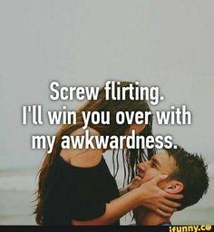 flirting meme awkward quotes meme generator work
