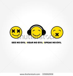 Find Emoticon Three Monkeys Vector stock images in HD and millions of other royalty-free stock photos, illustrations and vectors in the Shutterstock collection. Vector Stock, Emoticon, Monkeys, Royalty Free Stock Photos, Illustration, Image, Smiley, Rompers, Monkey