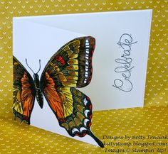 Kitty Stamp: Swallowtail Celebration - June 2014 from Split Coast Stamping