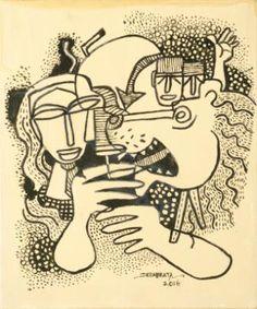 Artist:  DEBABRATA CHAKRABARTY Title:  CALCUTTA KOLKATA Medium:  ACRYLIC ON CANVAS Size:  26X31 Exhibition:  50th Annual Exhibition, 2017 Price:  30,000/-