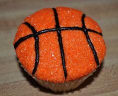 basketball cupcakes Basketball Cupcakes, Basketball Party, Basketball Birthday, Basketball Signs, Basketball Tattoos, Street Basketball, Basketball Plays, Basketball Stuff, Sports Birthday