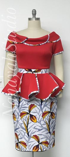 ankara stil Discover hottest ankara styles of 2020 and where to get them. Your resource for the best dashiki and ankara fashion for prom dresses, weddings. Latest African Fashion Dresses, African Dresses For Women, African Print Dresses, African Print Fashion, African Attire, Ankara Fashion, Nigerian Fashion, Dress Fashion, Nigerian Clothing