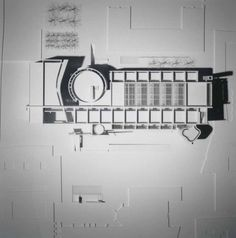 Model of BMCA by Richard Meier.