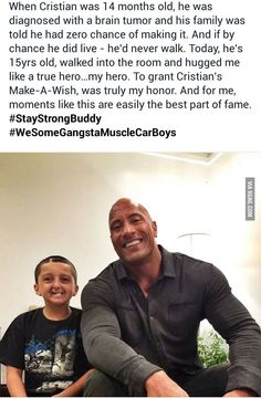 Respect to The Rock