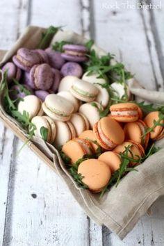Macarons salés                                                                                                                                                                                 Plus