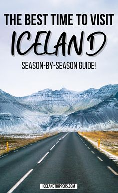 How To Choose The Best Time To Visit Iceland | Iceland Season-By-Season Guide | Best Time Of Year To Visit Iceland | how to choose the right season for your travels to Iceland | weather in Iceland | when to see the Northern lights in Iceland | when to go on your iceland vacation | best time of year for iceland weather | iceland travel guide | what to see in iceland | how to travel in iceland | prime times to visit iceland | best seasons in iceland | prettiest times for iceland travel… Iceland Travel Tips, Iceland Road Trip, Europe Travel Tips, Travel Guides, European Travel, Budget Travel, Travel Destinations, France Travel, Italy Travel