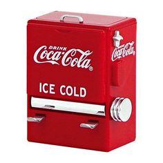 TableCraft Coca Cola / Coke Vending Machine Toothpick Dispenser