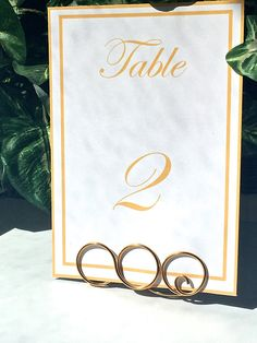 Infinity table number holder wedding table number stand set of 6 wedding table number holders wire table number holders large greentooth Gallery