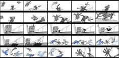 Rio 2 storyboards