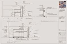 Photo: SO YOU NEED YOUR RECEPTION DESK TO HOLD A TON OF STEEL ARTWORK ON THE FACE? CHECK OUT THIS MILLWORK SHOP DRAWING.