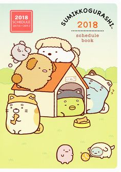 https://flic.kr/p/Z37bab | San-X Sumikko Gurashi 2018 Diary (B6) | Available at Daisuki Australia's eBay store: selling Sanrio, San-X, Crux, Kamio and Q-lia since 2005. The link to my store is in my profile.