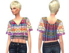 India top at Cute Sims4 • Sims 4 Updates