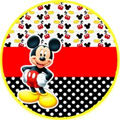 Mickey Mouse Table, Mickey Mouse Birthday Cake, Fiesta Mickey Mouse, Mickey Mouse Images, Classic Mickey Mouse, Baby Mickey, Mickey Party, Disney Mickey Mouse, Minnie Mouse